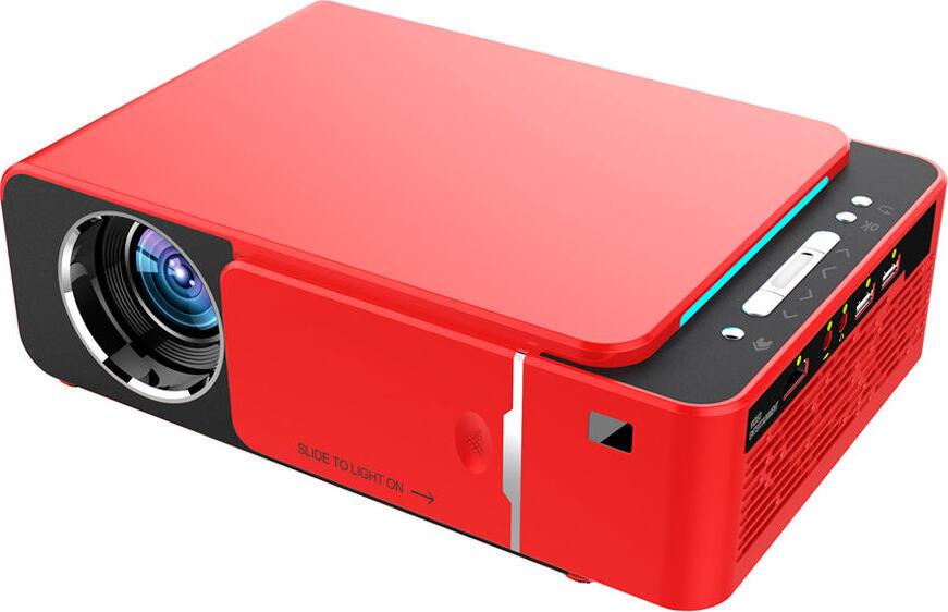 LED проектор Everycom T6 Wi-Fi красный