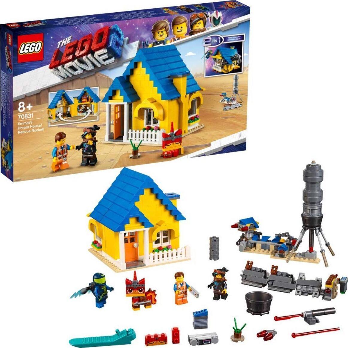 """Игрушка Lego Movie 2 Дом мечты """"Спасательная ракета Эммета"""