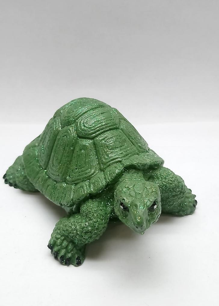 Фигурка-Сувенир Черепаха (зеленая)