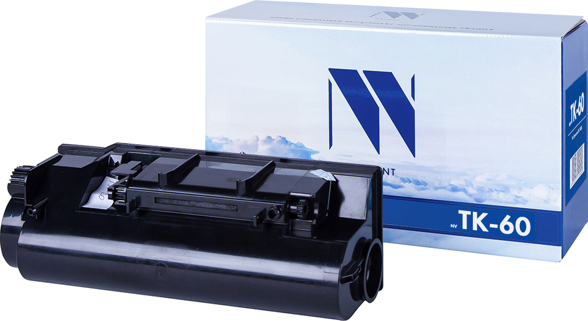 Тонер-картридж NV Print TK-60, черный, для лазерного принтера