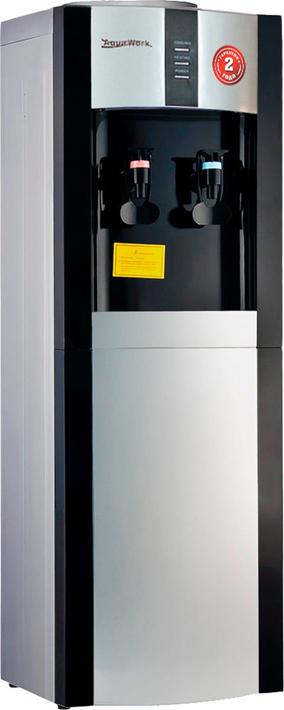 Кулер для воды Aqua Work AW 16L/EN, серебристый, черный