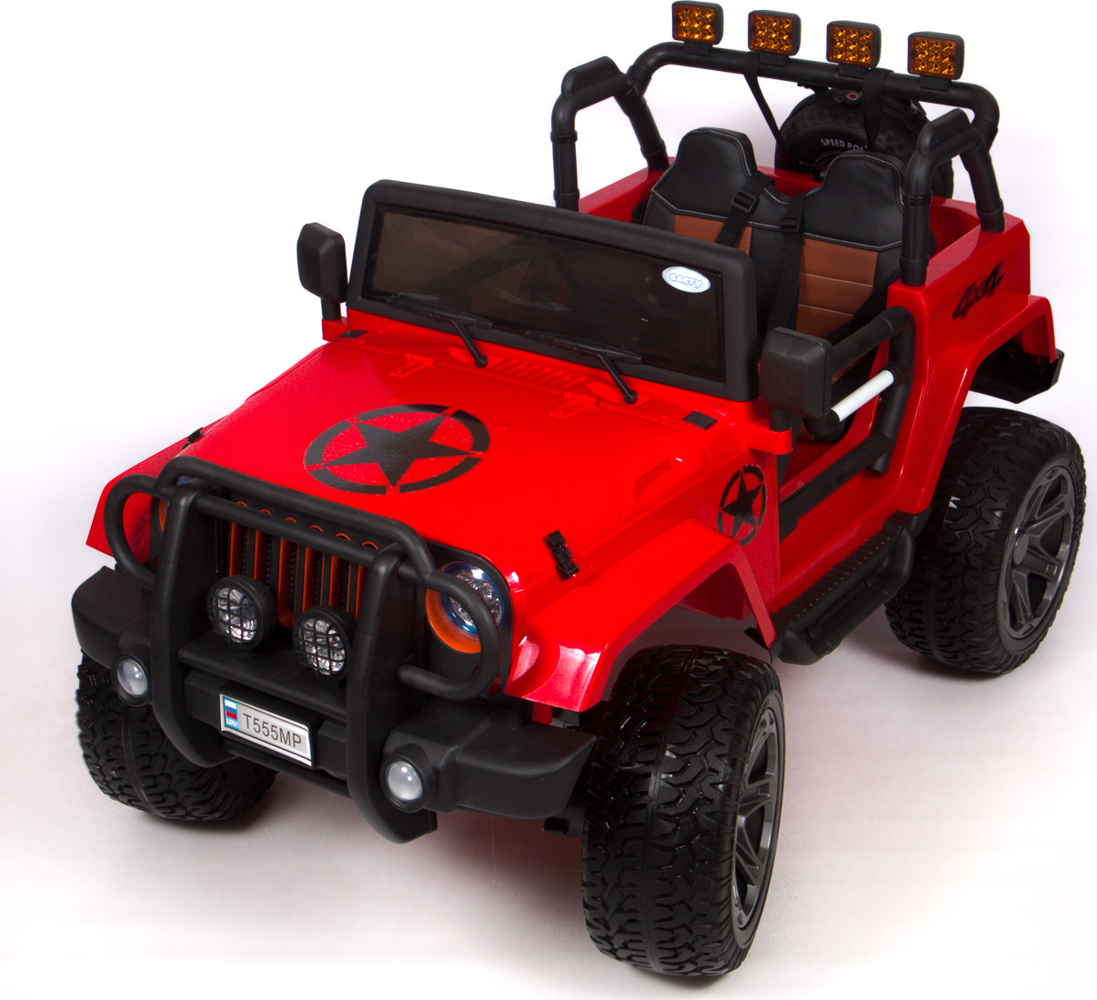 Электромобиль  BARTY Jeep Wrangler (Т555МР)