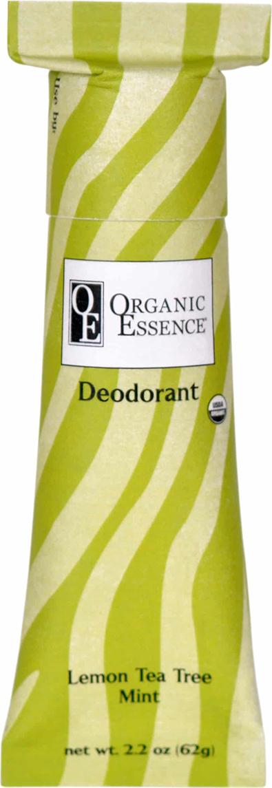 Organic Essence Органический дезодорант, Лимон и Масло Чайного Дерева 62 г