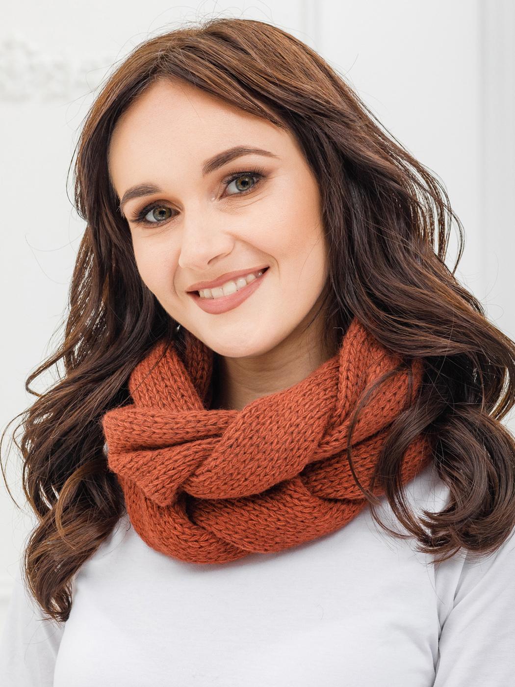 как носить шарф хомут зимой фото границе сопровождаются