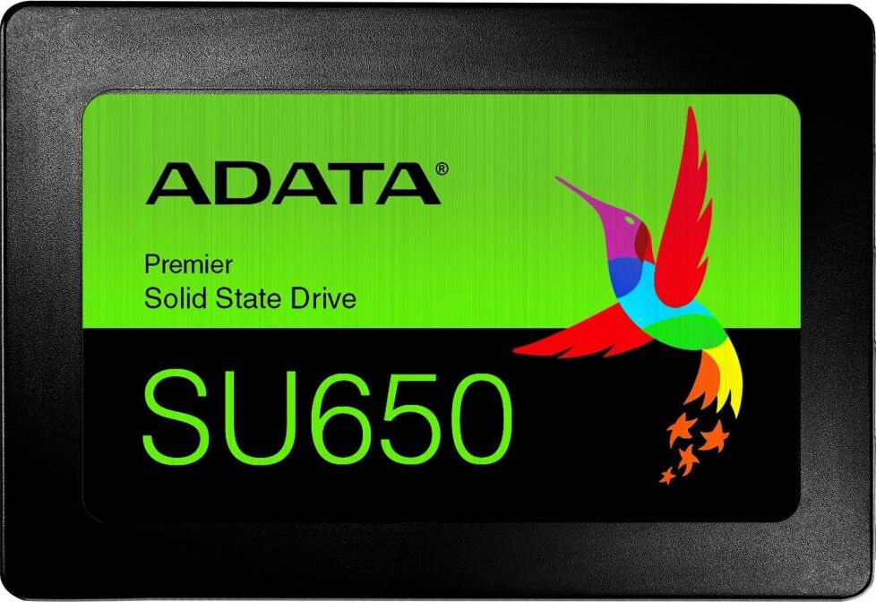 "SSD-Накопитель  A-Data  480GB  Ultimate SU650, SATA-III, R/W - 520/320 MB/s, 2.5"", Silicon Motion, TLC 3D NAND"