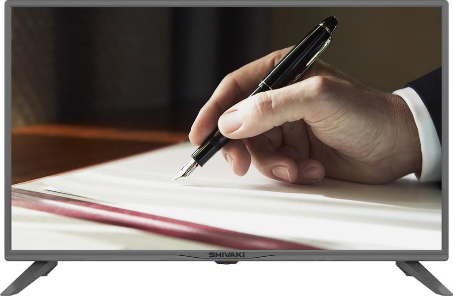 "Телевизор Shivaki STV-32LED25 32"", серый"