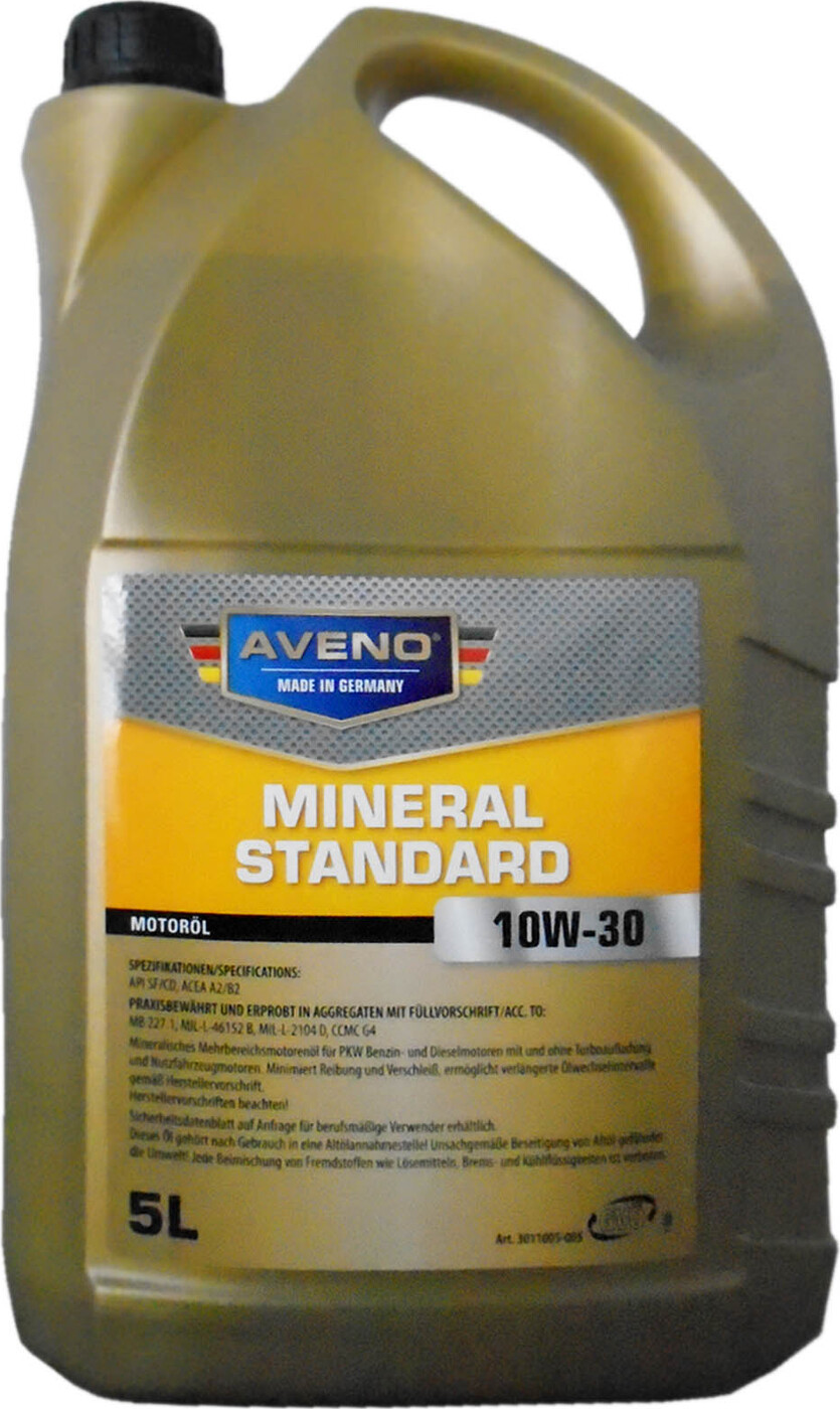 Моторное масло AVENO Mineral Standard SAE 10W-30 (5л)