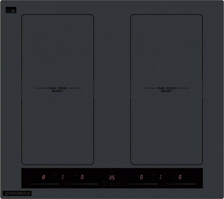 Независимая варочная панель MAUNFELD EVI. 594. FL2(S)-GR Таймер Бустер Изготовлено по европейскому сертификату CE...