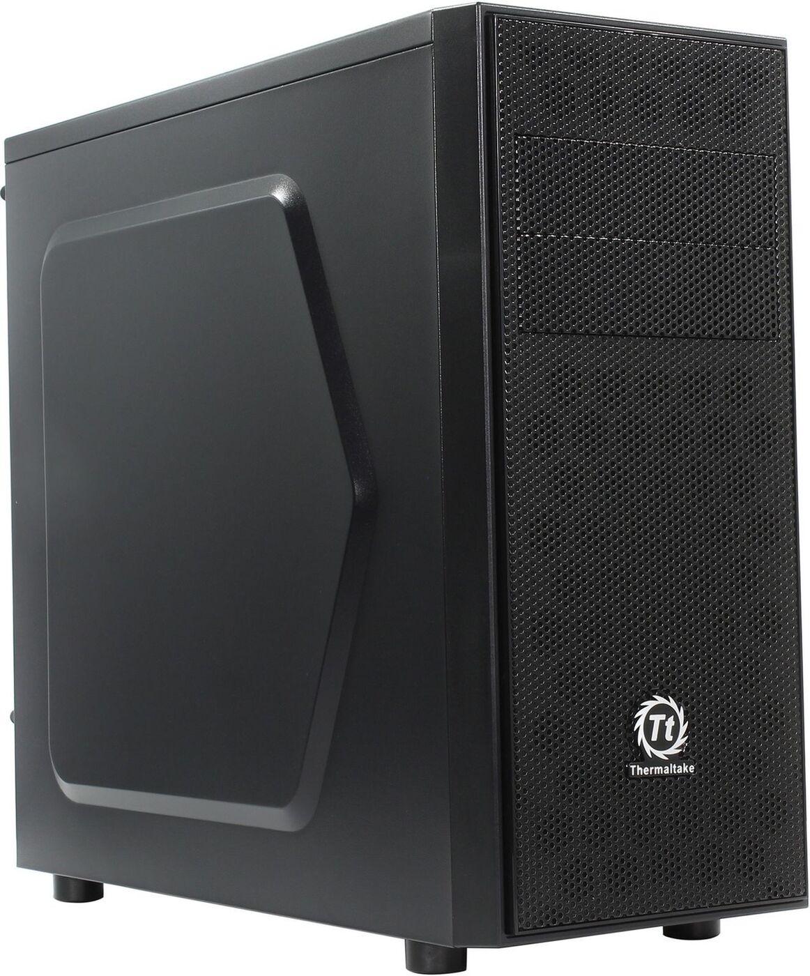 Корпус компьютерный Thermaltake Versa H24/Black/No Win/SECC, CA-1C1-00M1NN-00