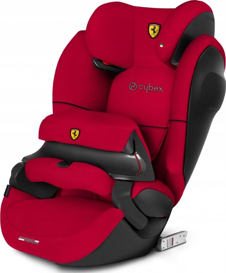 Автокресло Cybex Pallas M-Fix SL FE Ferrari Racing Red Группа I-II-III, от 9 до 36 кг (от 1 года до...