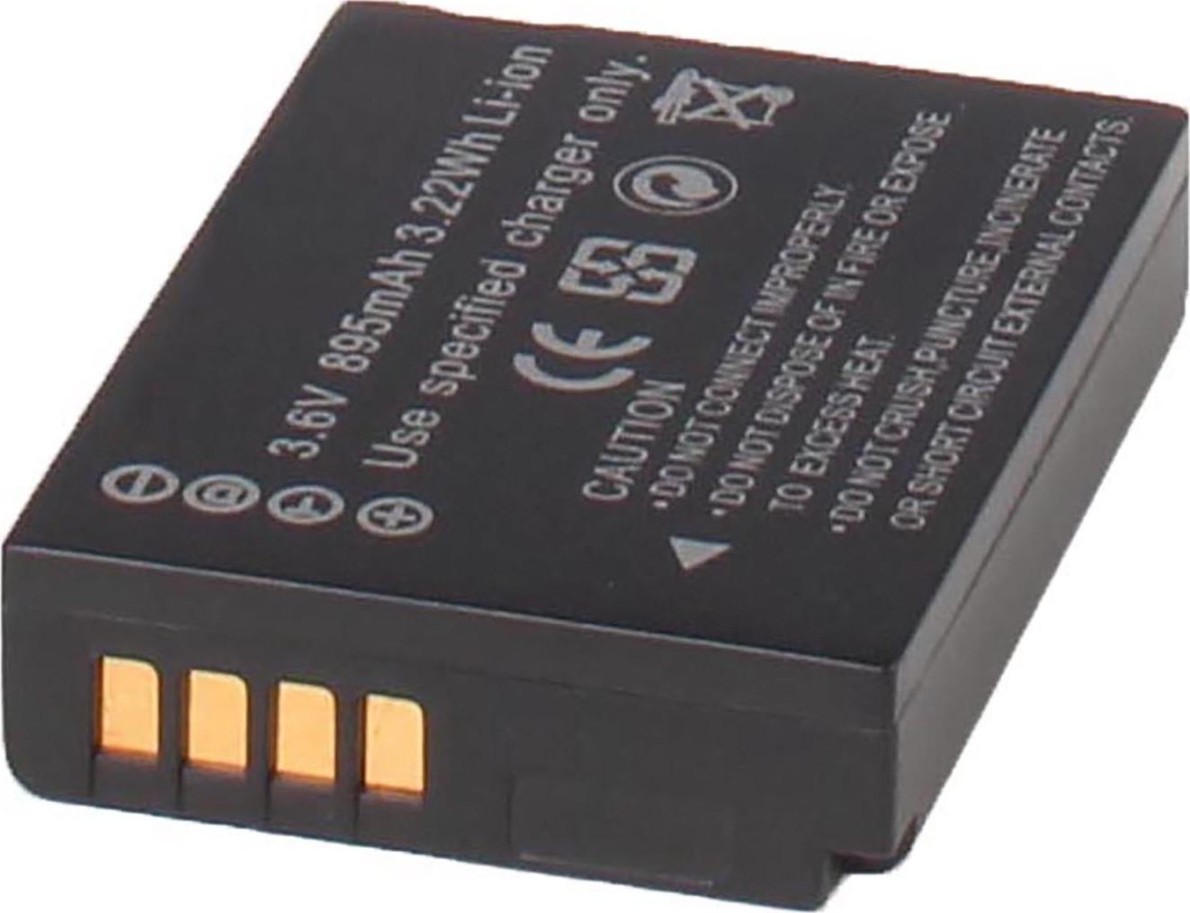 Аккумуляторная батарея iBatt iB-T1-F319 890mAh для камер Leica V-Lux 30, V-Lux 40, V-Lux 20,  для Panasonic Lumix DMC-TZ20, Lumix DMC-TZ8, Lumix DMC-TZ10, Lumix DMC-TZ30, Lumix DMC-TZ18, Lumix DMC-TZ7, Lumix DMC-TZ25, Lumix DMC-TZ6, Lumix DMC-ZX3,