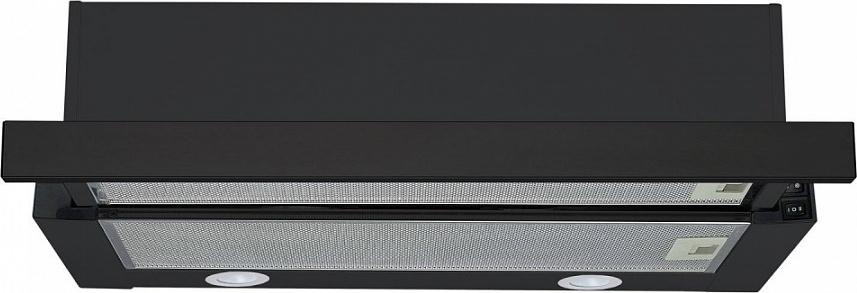 Вытяжка Maunfeld VS Fast 60, черная Встраиваемая вытяжка из высококлассной стали встраивается шкаф...