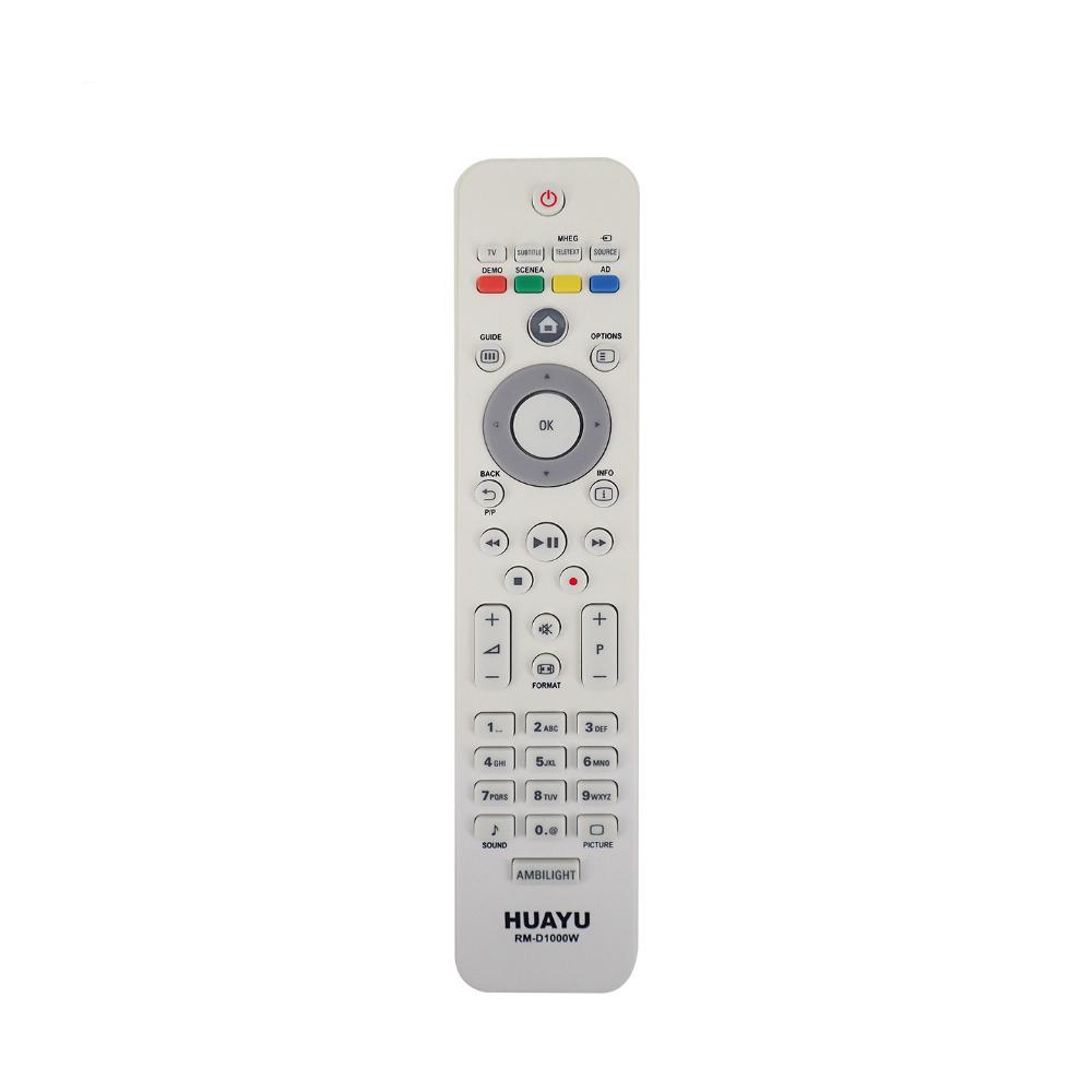 Пульт универсальный HUAYU RM-D1000W для Philips TV (белый)