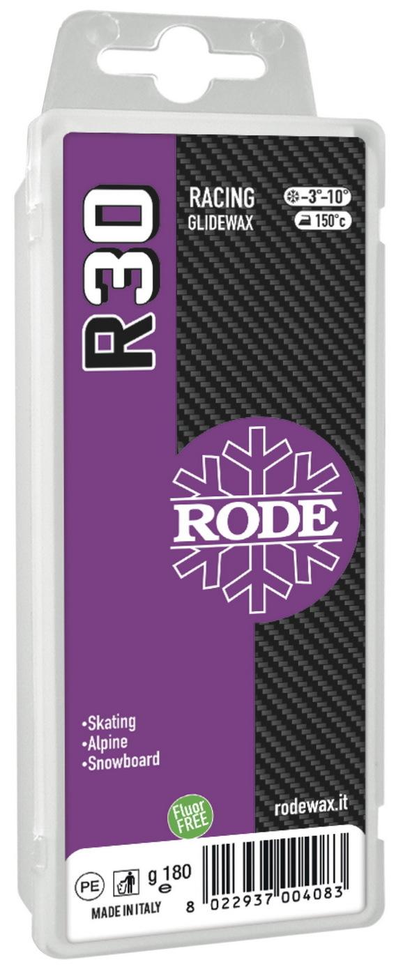 Парафин Rode R30 Racing Glider Violet, -3°… -10°С, R30-180, фиолетовый, 180 г