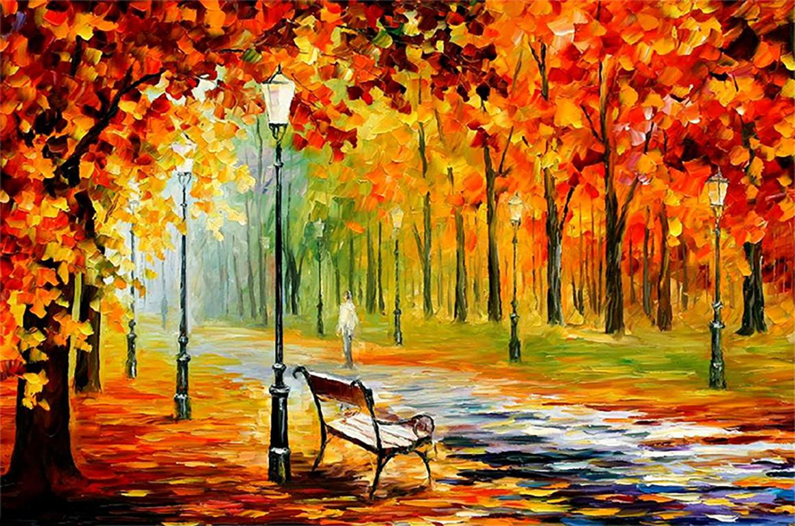 Картинки я рисую осень