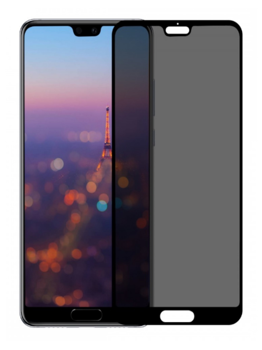 Защитное стекло Baseus 0.3 mm Anti-Spy Curved-Screen Tempered Glass Screen Protector для Huawei P20 Pro Black