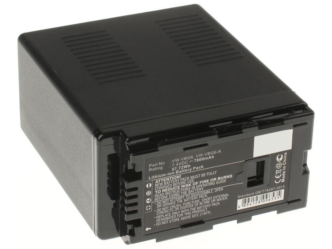 Аккумуляторная батарея iBatt iB-T1-F376 7800mAh для камер Panasonic AG-AC160, AG-HMC154ER, AG-HMC84ER, AG-HMC74ER, AG-AC130, AG-AC120, AG-AF104ER, AG-HMC40, AG-AC120EN, AG-AF100, AG-AC160EN, AG-HMC41E, AG-AC130EN, AG-AC160P, AG-AF101E, AG-HMC150,