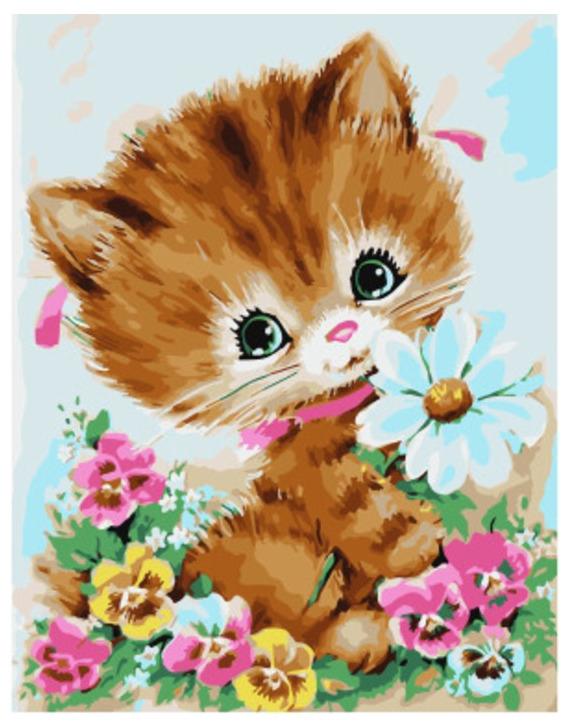 Открытки с котятами рисунки