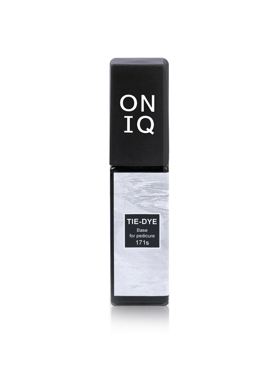 Oniq База для гель-лака 171 Tie-dye: Base for pedicure, 6 мл