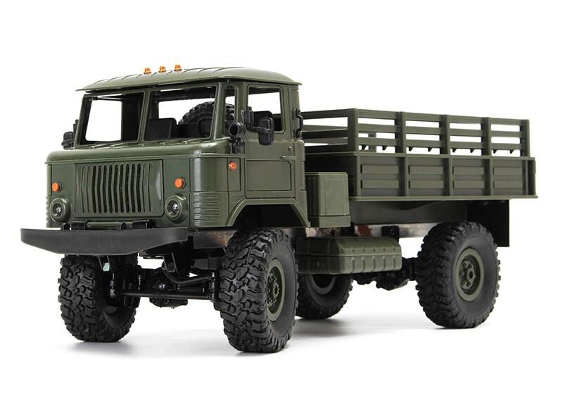 Военный грузовик зеленый Pro 1/16 4х4 электро
