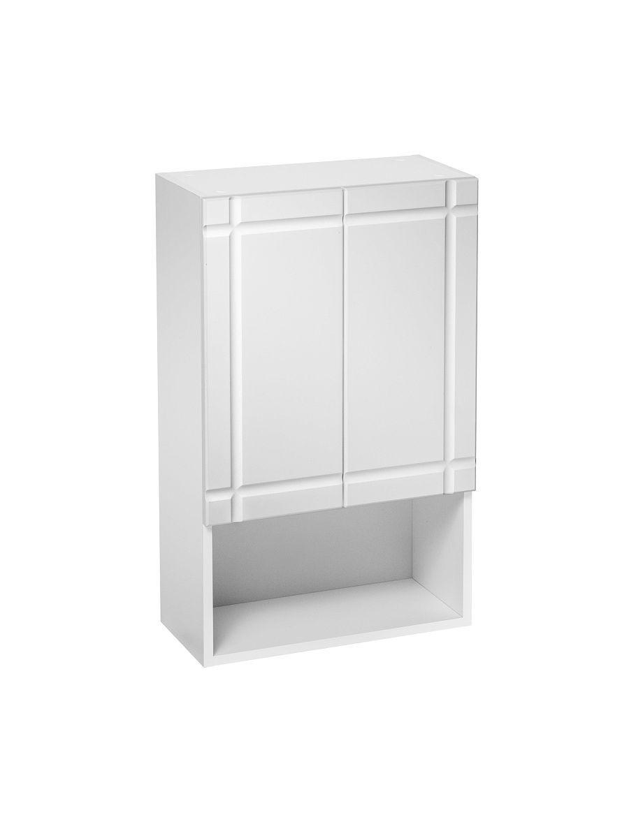 Шкаф навесной DeRossa, 40х24х80 см, Шкаф подвесной Монако 500х800, матовый, Универсальный