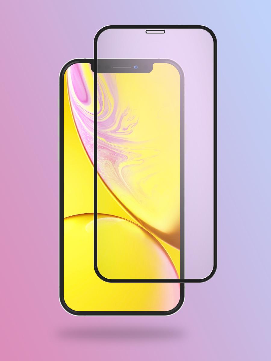 Полноприклеивающееся защитное стекло для Apple iPhone 11 / iPhone XR на весь экран