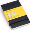Блокнот Moleskine Reporter Soft (нелинованная) Pocket черная - изображение
