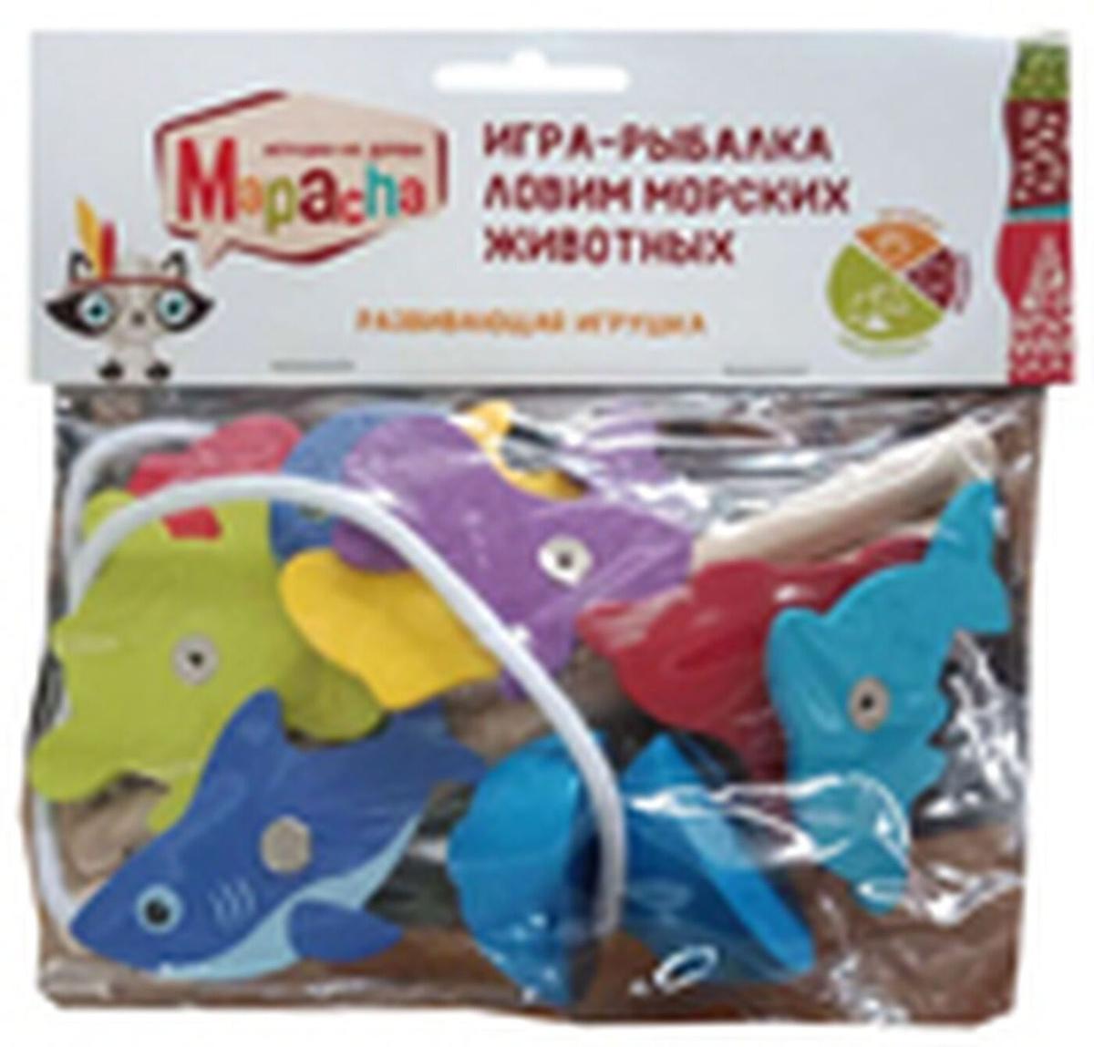 Настольная игра Mapacha Игра-рыбалка Ловим морских животных, 76631  #1