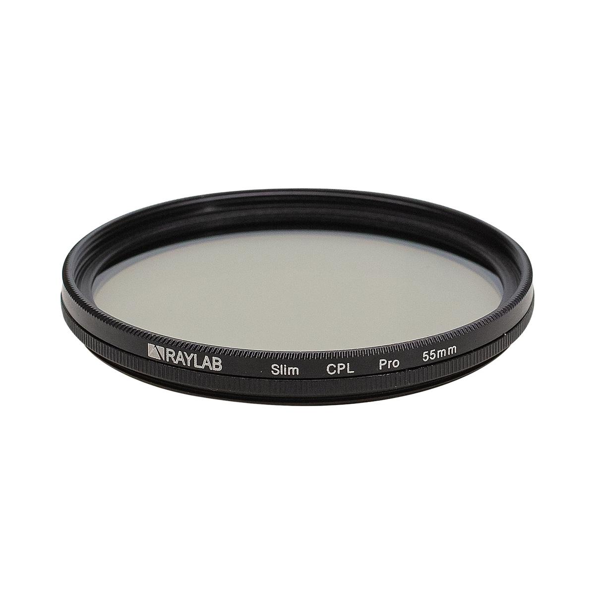 Фильтр поляризационный RayLab CPL Slim Pro 55mm #1