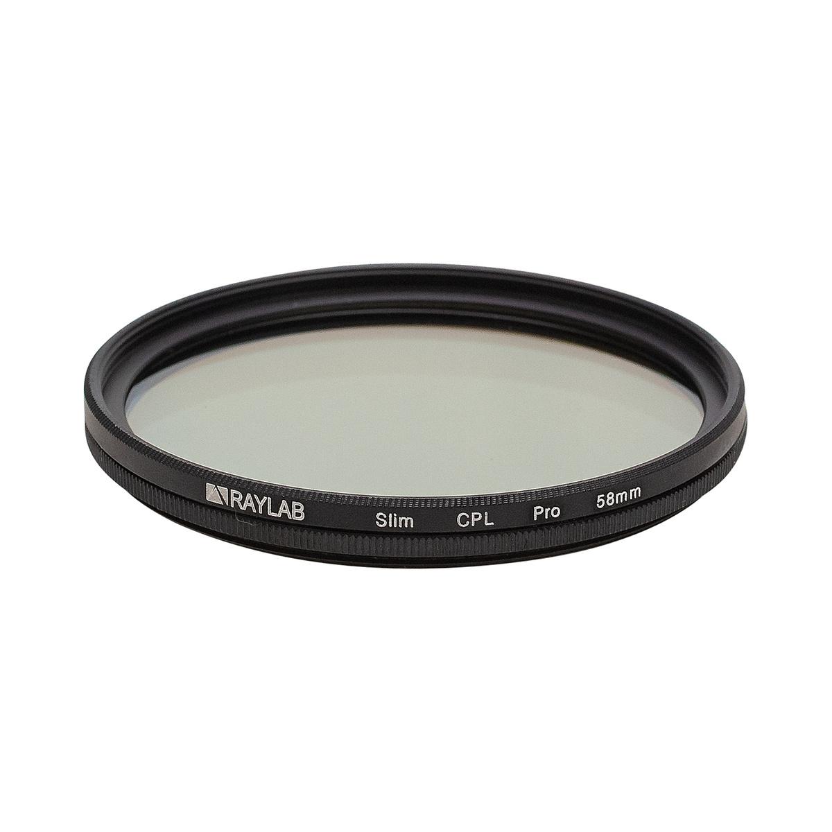Фильтр поляризационный RayLab CPL Slim Pro 58mm #1