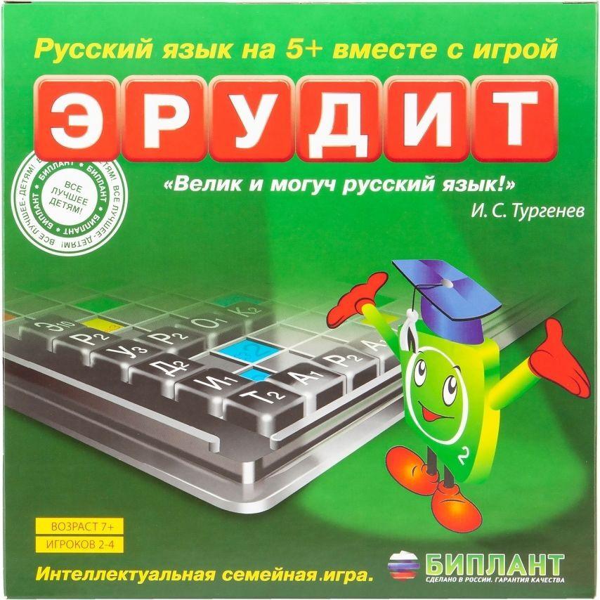 Биплант Настольная игра Эрудит #1