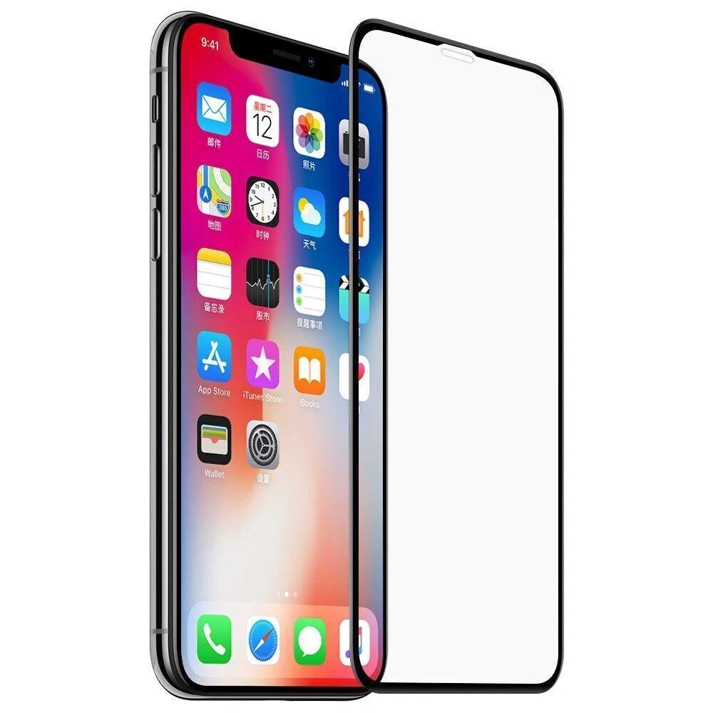 Защитное закаленное стекло на iPhone X / XS / 11Pro, Gorilla Glass, 21D полноэкранное, 11Н  #1