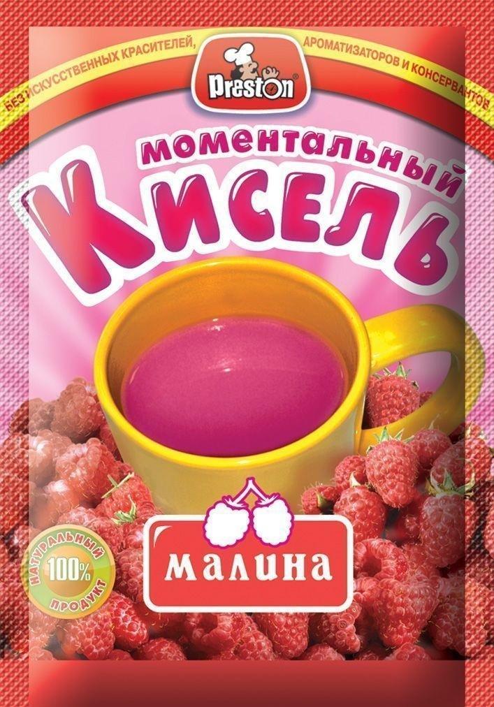 Pr.Preston Кисель б/пр аромат малины 30гр/15Шт  #1