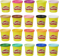 Play-Doh Пластилин Super Color Pack 20 цветов 20 баночек . Наши лучшие предложения