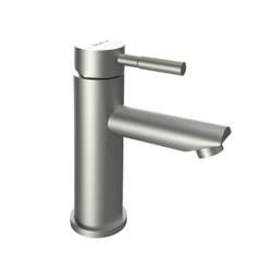 Смеситель для раковины (для умывальника) Dorff Logic new D3002100SS излив 174 мм, керамический стабилизирующий картридж, Германия, нержавеющая сталь. Новинки