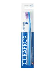 """Зубная щетка Curaprox """"soft"""", d 0,15 мм, синяя, цвет щетин в ассортименте."""