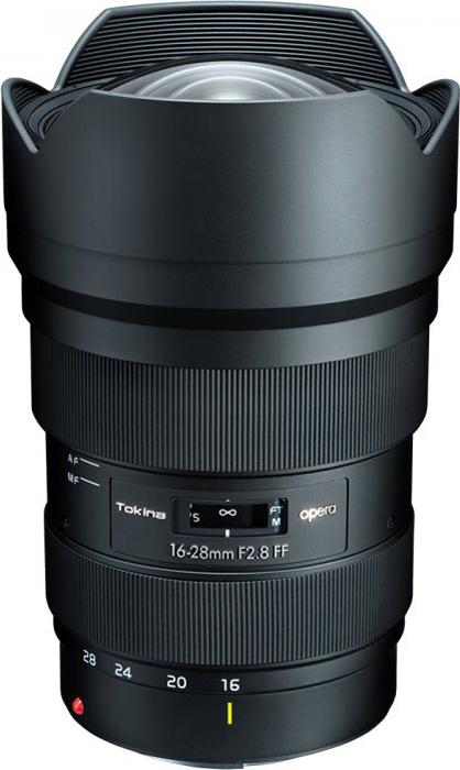 Широкоугольный объектив Tokina Opera 16-28mm F2.8 FF CEF для Canon