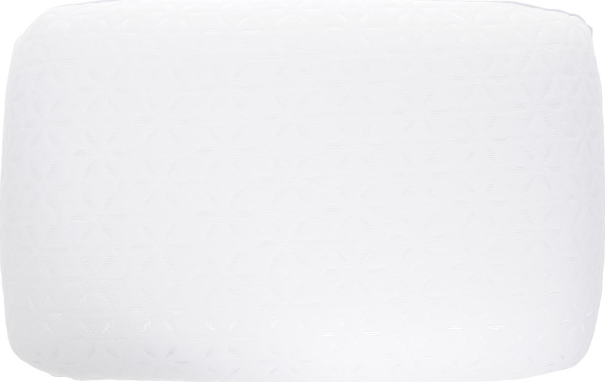 Подушка ортопедическая Василиса, 186506, белый, наполнитель: memory foam, 59 х 37,5 х 13,5 см подушки homedics ортопедическая подушка memory foam luxury box