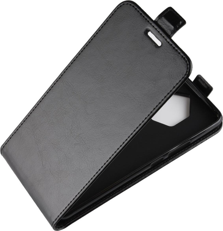 Чехол-флип MyPads для Asus Padfone 3 Infinity A80 вертикальный откидной черный