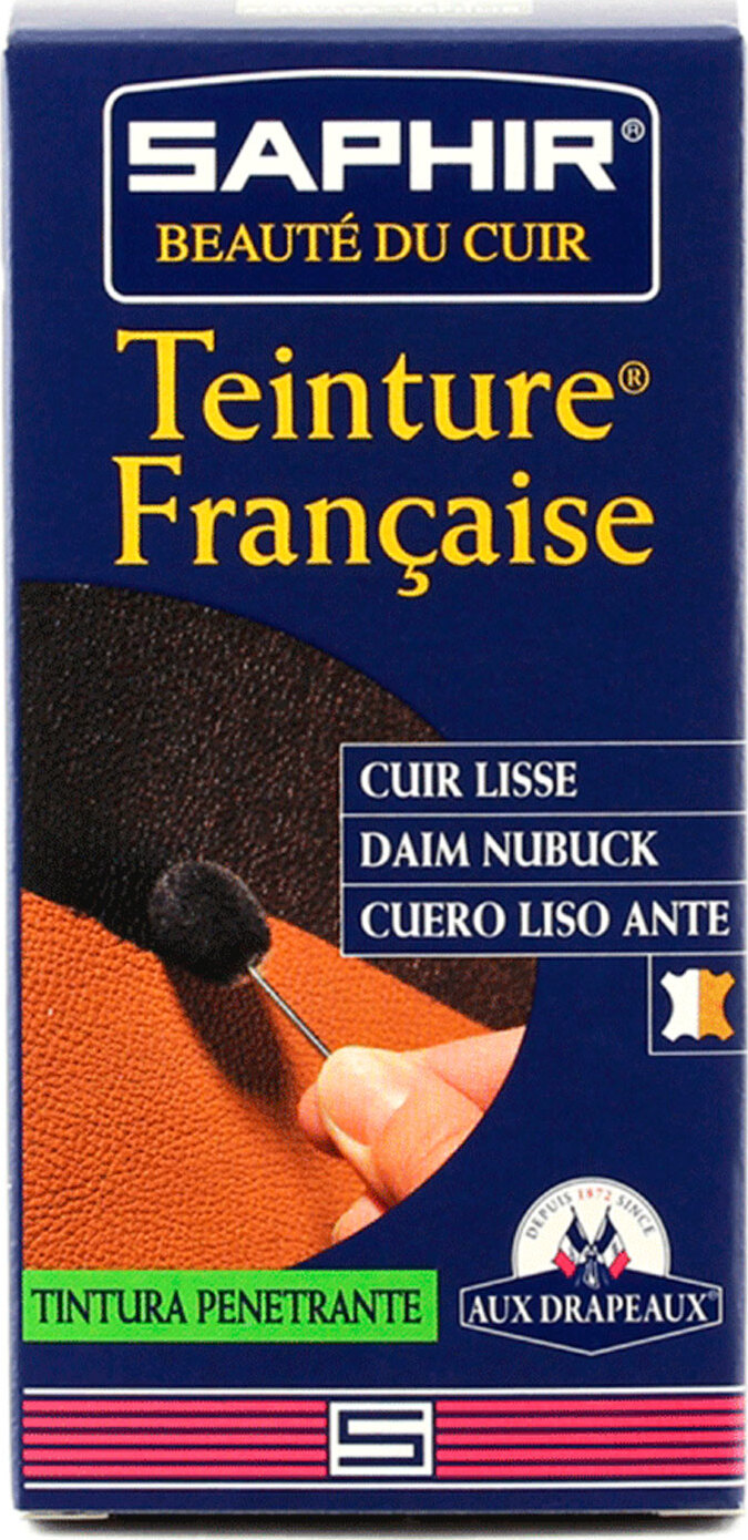 Проникающая краска для замши и нубука Saphir Teinture Francaise