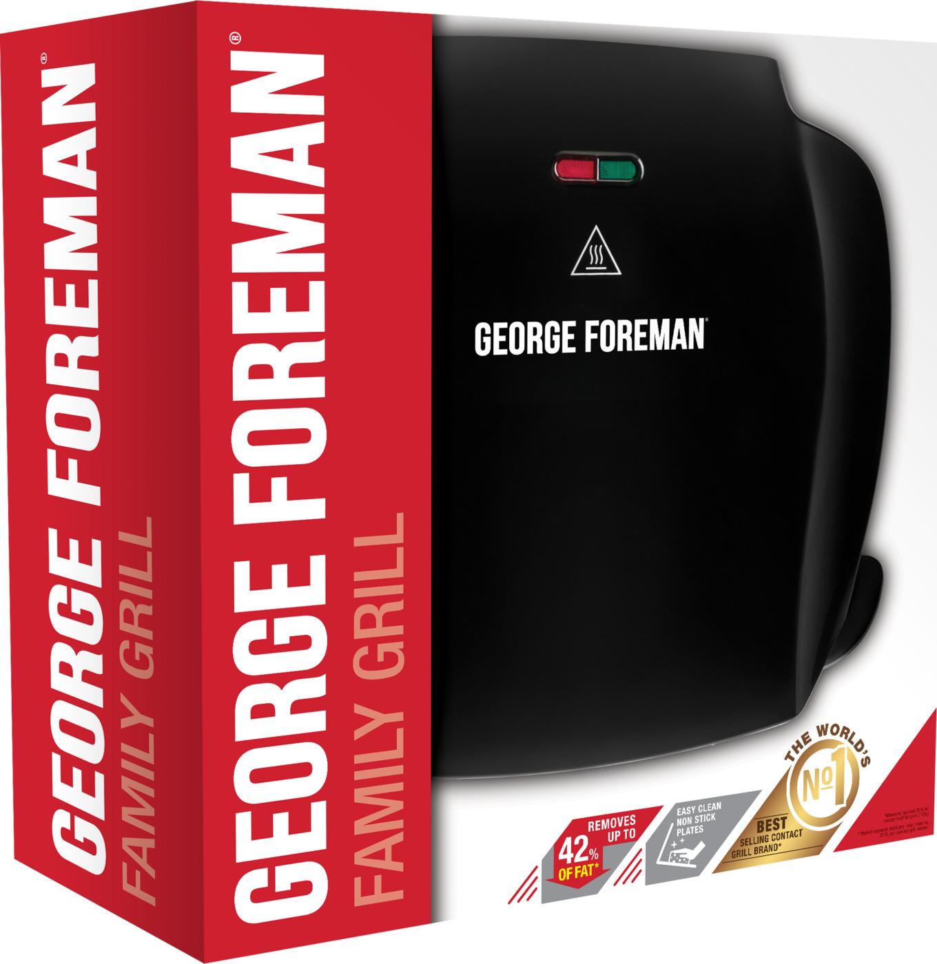 Гриль George Foreman 18874-56 черный