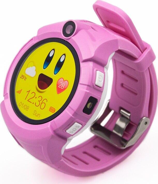 Детские GPS часы Nuobi Q360, Розовый