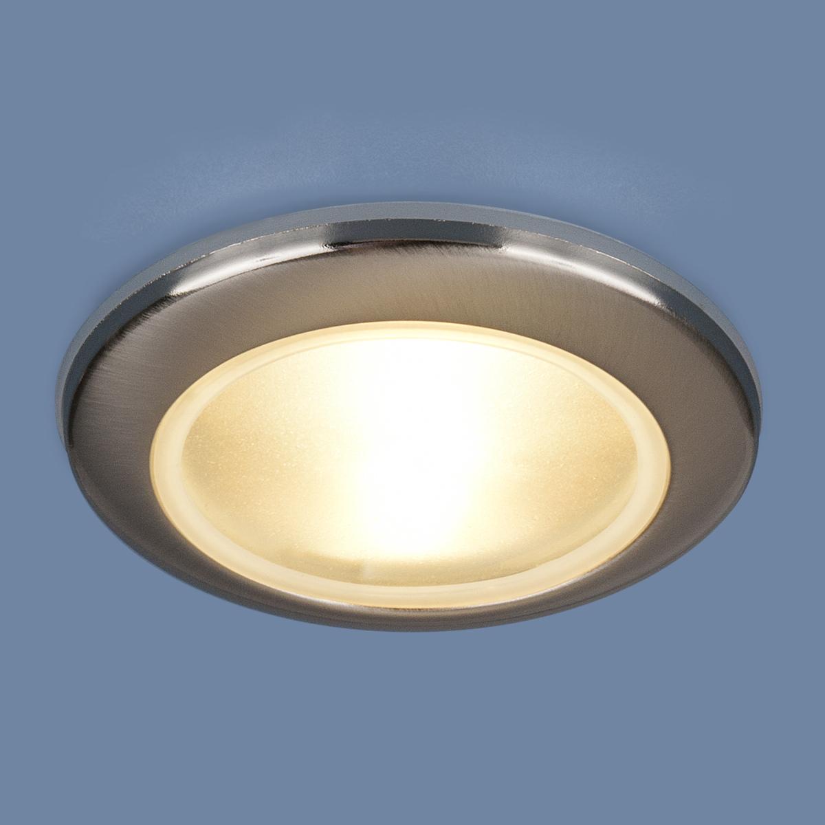 Встраиваемый светильник Elektrostandard Влагозащищенный точечный 1080 MR16 CH, G5.3 эра c0043804 st3 ch mr16 12v 220v 50w хром