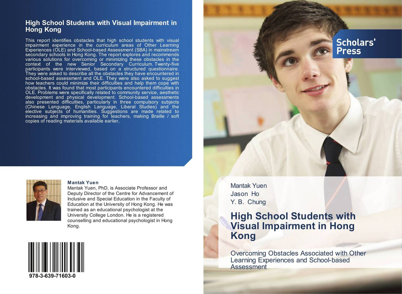 Фото - Mantak Yuen,Jason Ho and Y. B. Chung High School Students with Visual Impairment in Hong Kong paul fletcher language development and language impairment a problem based introduction