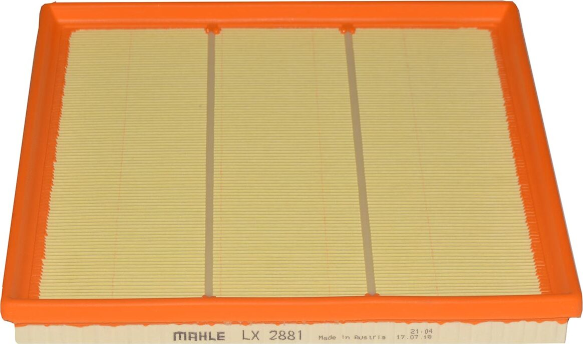 Воздушный фильтр Mahle ORIGINAL LX2881 воздушный фильтр mahle original lx936