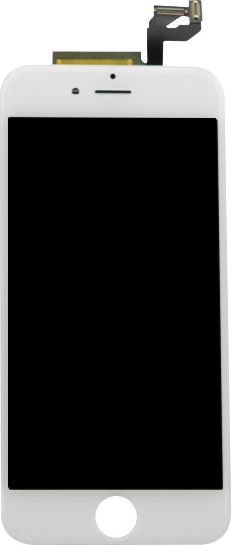 Дисплей для Apple iPhone 6S + тачскрин белый с рамкой AAA (copy LCD) дисплей rocknparts zip для iphone 6s white 468608