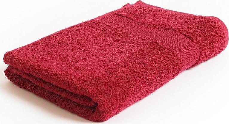 grace ТТ-9101-04-660 Полотенце махровое для рук красное, 100% хлопок, 50 х 100