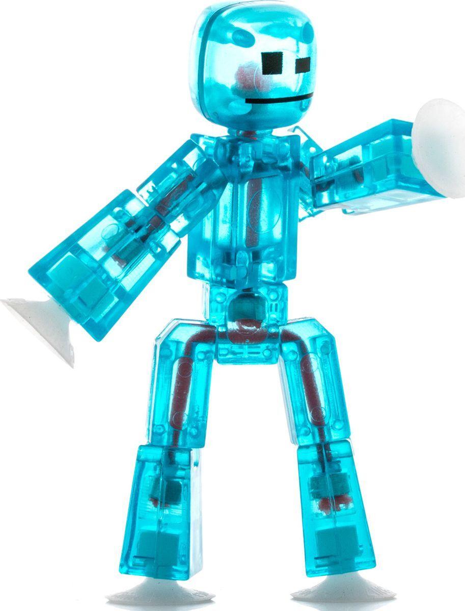 Stikbot Фигурка Стикбот Оружиес аксессуарами Цвет :бирюзовый фигурка с аксессуарами stikbot стиль жизни цвет красный оранжевый
