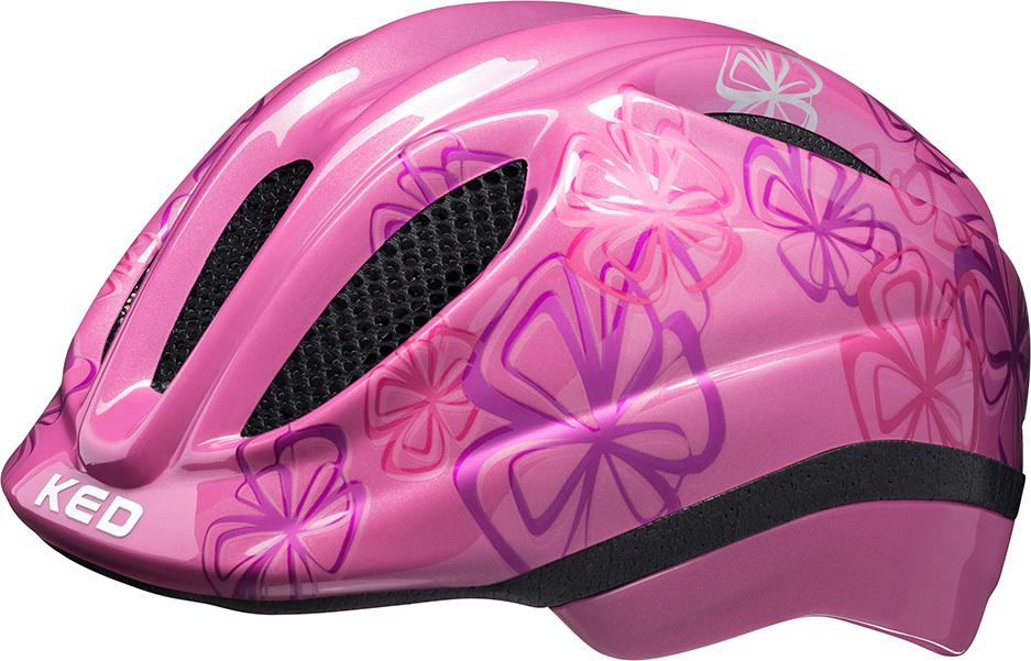 Шлем KED Meggy Trend Pink Flower, размер S/M