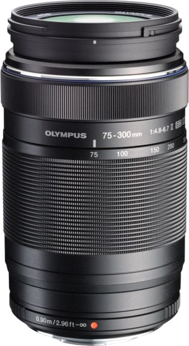 Объектив Olympus M.Zuiko Digital ED 75-300mm F4.8-6.7 II, черный
